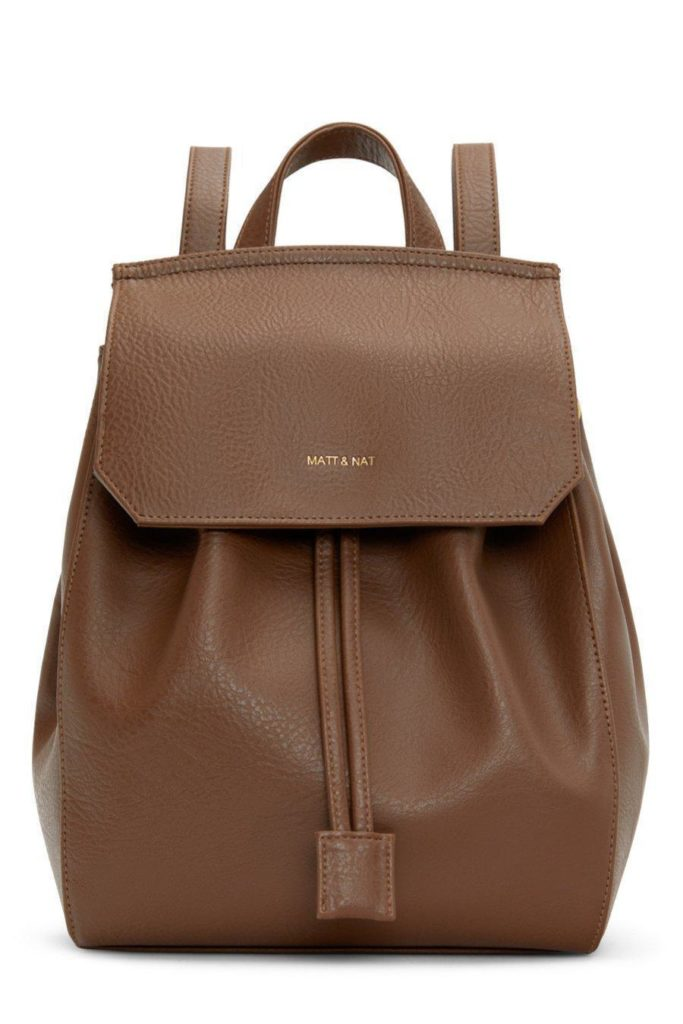 MUMBAISM Small Backpack - Brick MATT & NAT $125.00