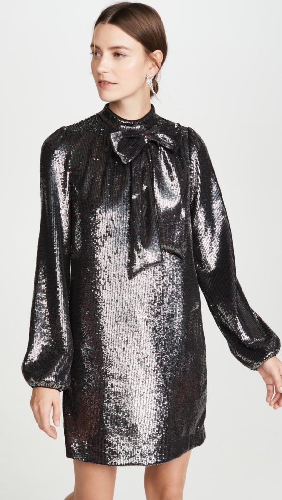 No. 21 Long Sleeve Metallic Dress $1,045.00