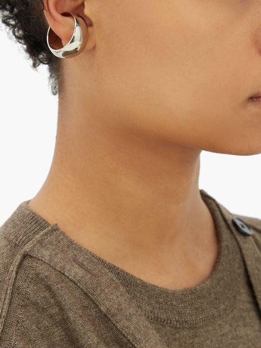 LEMAIRE Chunky hoop ear cuff $275