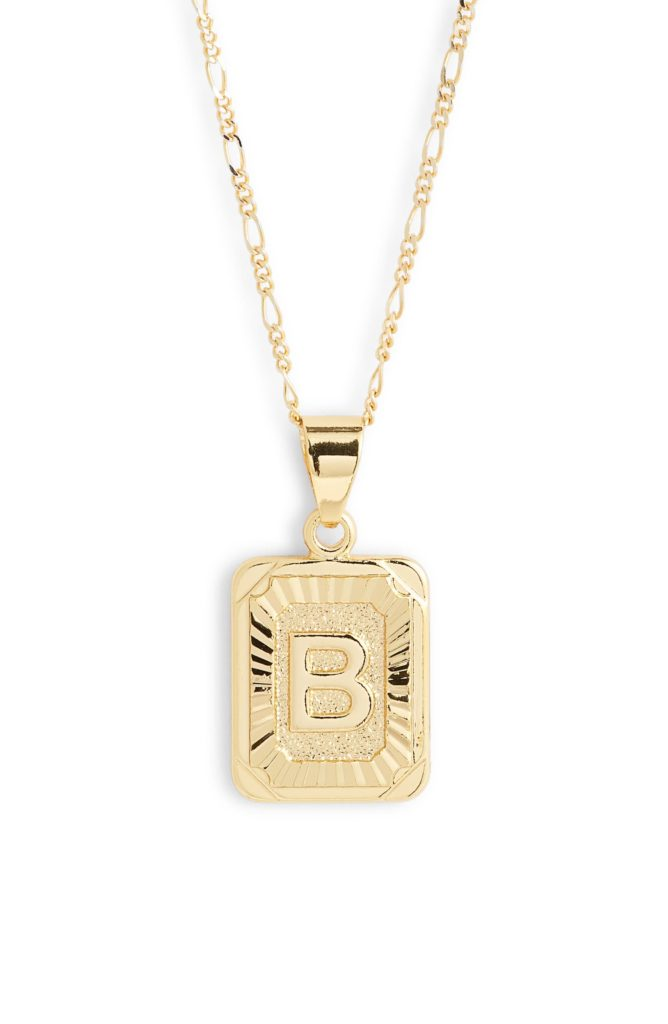 Initial Pendant Necklace $52.00