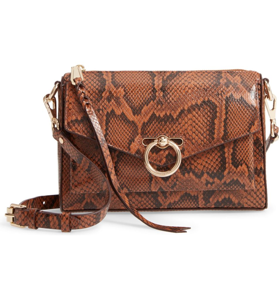 Jean Mac Snake Embossed Leather Convertible Crossbody BagREBECCA MINKOFF $248.00