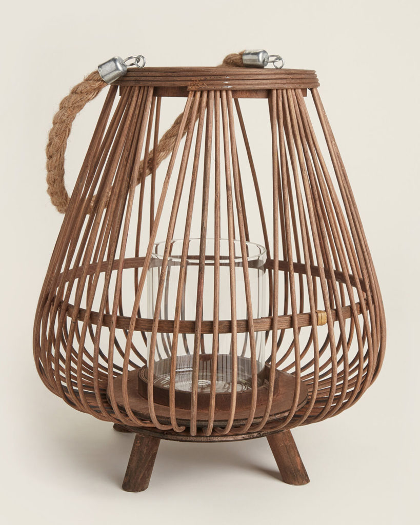 Decorative Bamboo Lantern $39.99