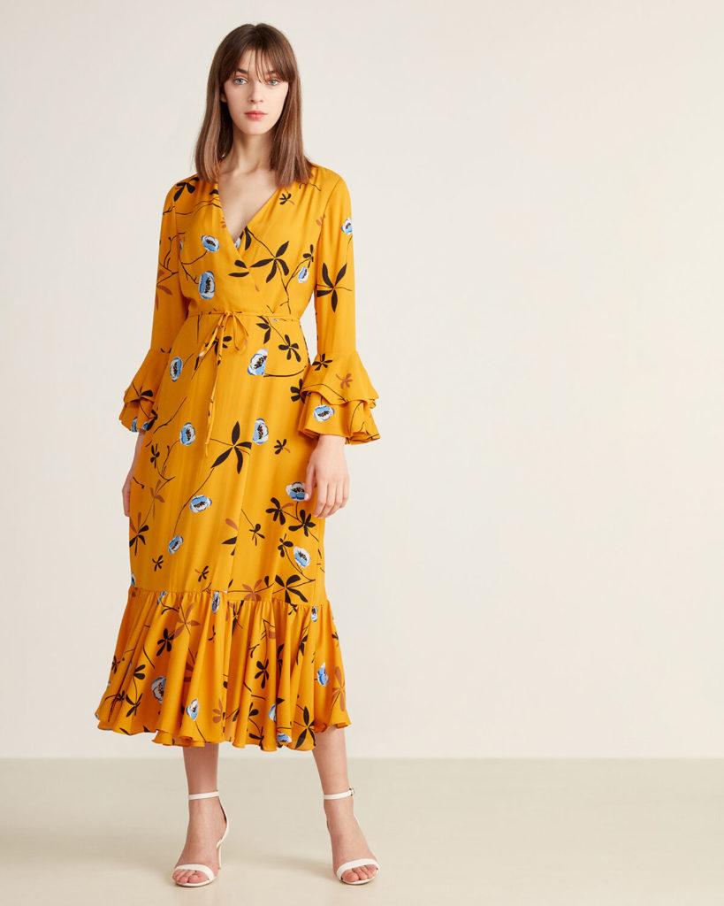 Madeline Floral Wrap Dress $399.99