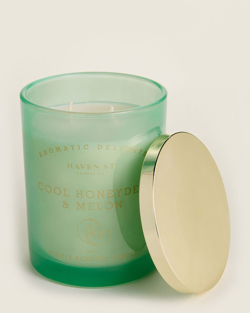 HAVEN STREET Cool Honeydew & Melon Scented Candle $8.99
