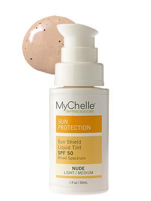 MyChelle Sun Shield Liquid Tint SPF 50 Nude $22.50