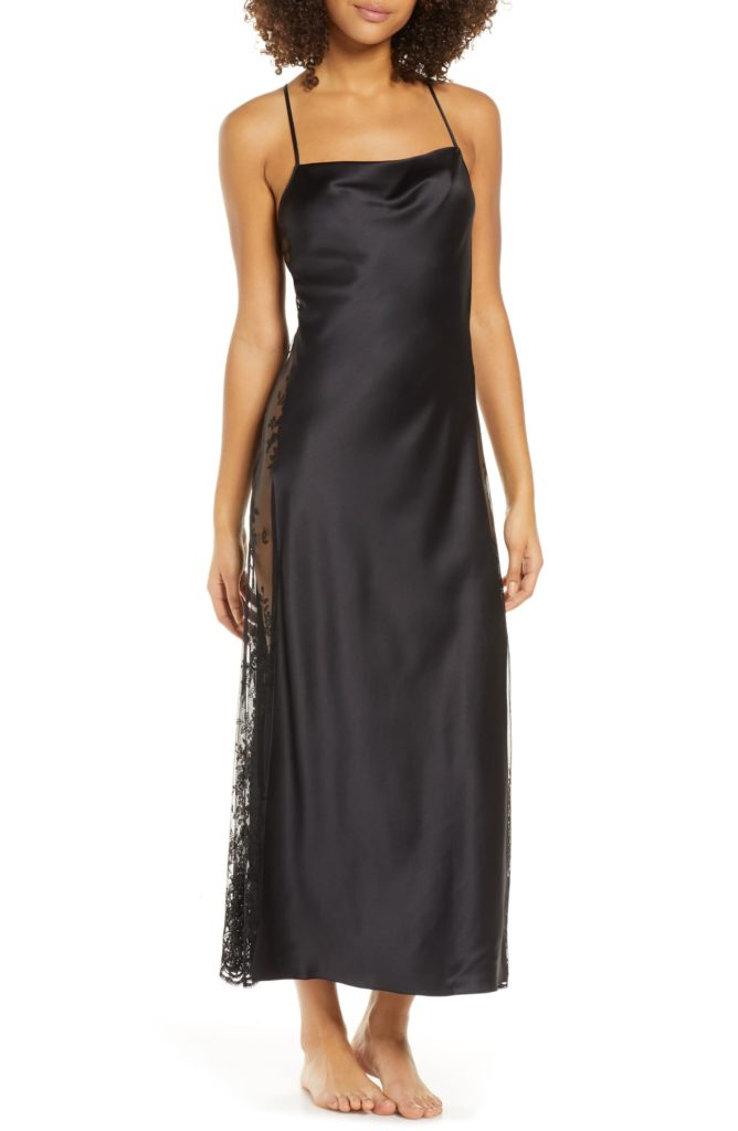 Darling Satin & Lace NightgownRYA COLLECTION $142.00