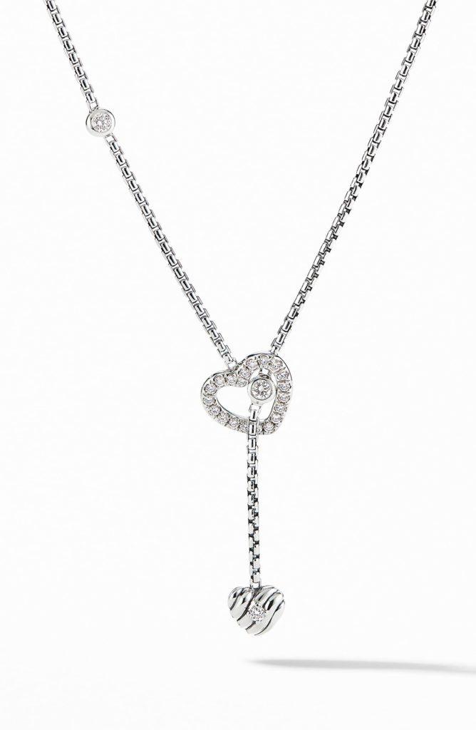 Heart Y-Necklace with Diamonds DAVID YURMAN$825.00