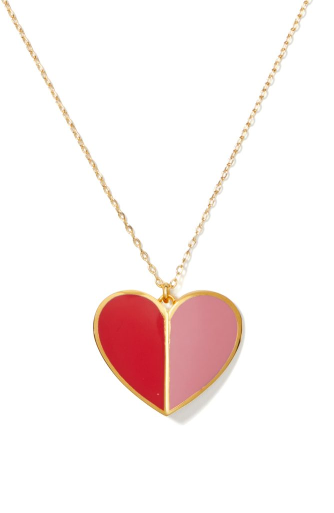 heritage spade heart pendant necklaceKATE SPADE NEW YORK $98.00
