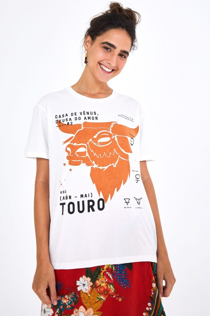 Zodiac Taurus T-Shirt $35