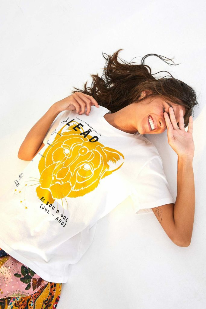 Zodiac Leo T-Shirt $35