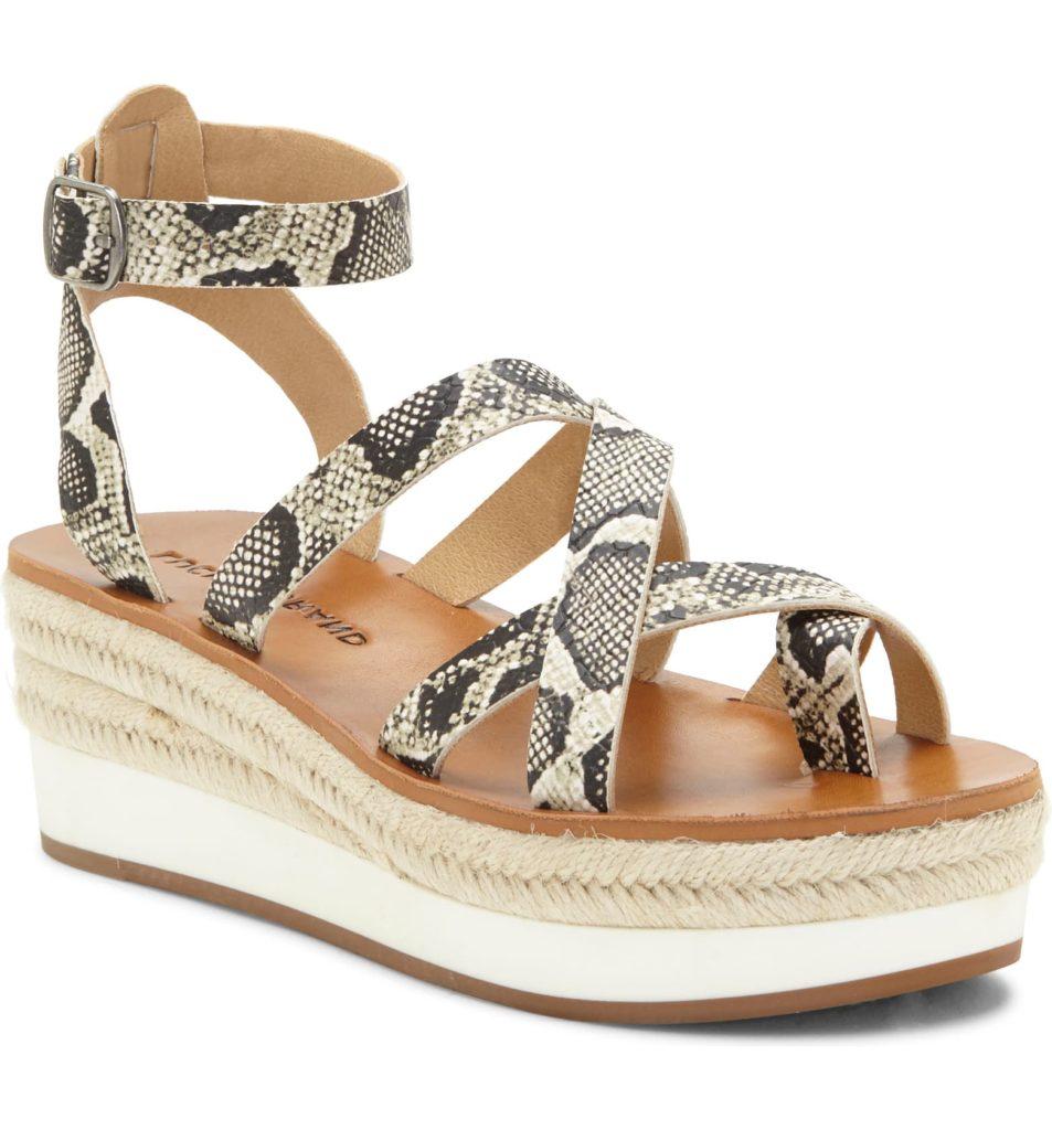 Janika Platform Wedge Sandal $89.95