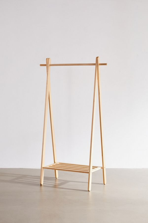 Wooden Clothing Rack $129.00