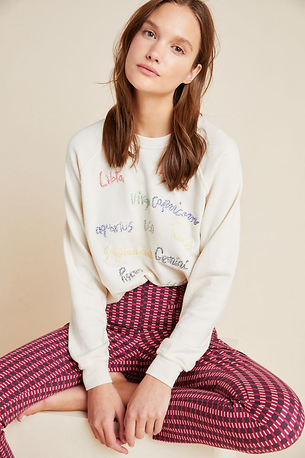 Zodiac Embroidered Sweater$196.00