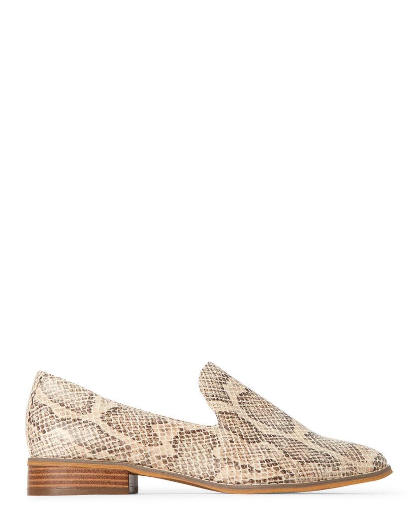Natural Hopeful Snakeskin-Effect Loafers$10.47