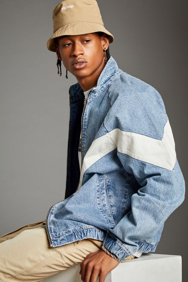 BDG Meadowland Denim Track Jacket $99.00