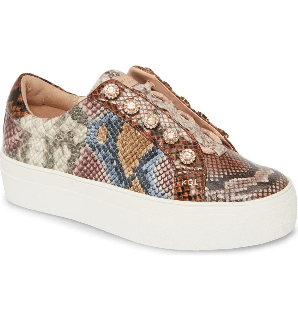 Liviah Platform SneakerKURT GEIGER LONDON $164.95