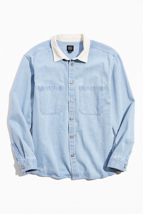BDG Washed Canvas Button-Down Work Shirt $79.00