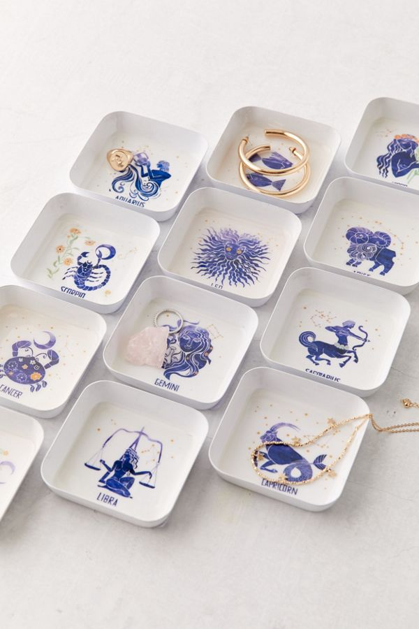Zodiac Square Catch-All Dish $8.00