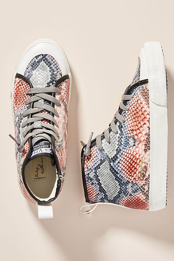 Snake High-Top Sneakers$89.00