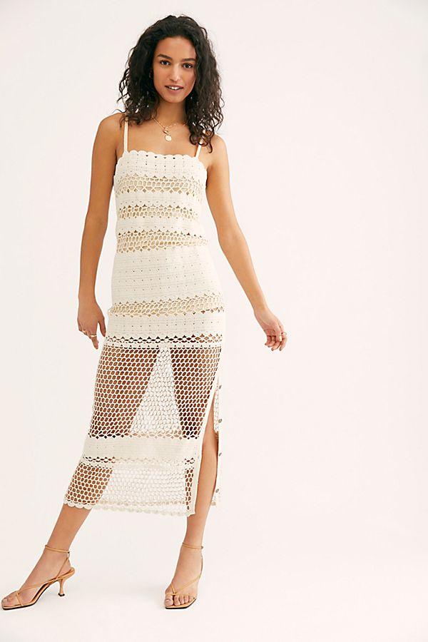 Stella Crochet Maxi Dress $355.00