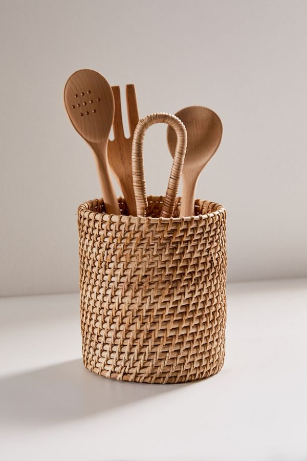 Basket Utensil Holder $39.00