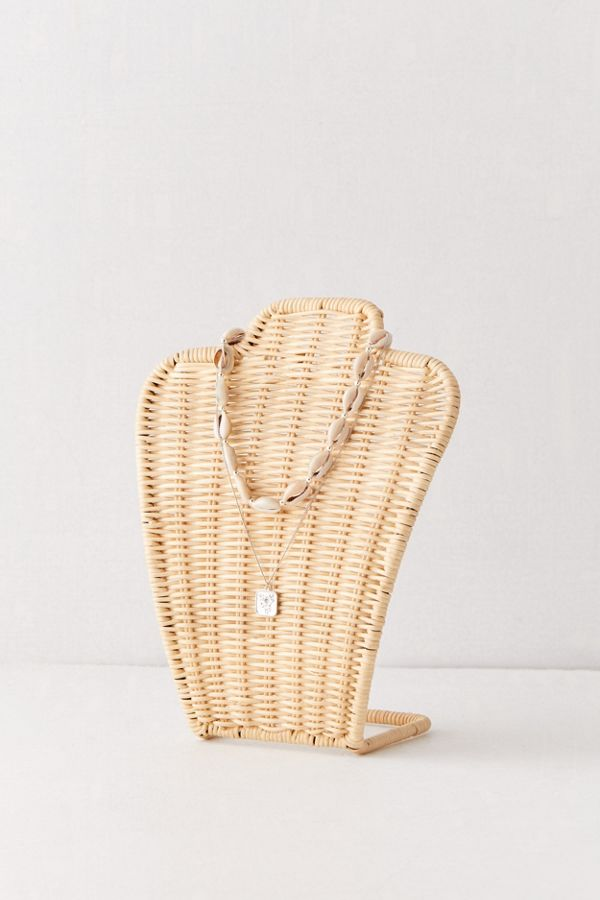 Priscilla Rattan Necklace Display Stand$49.00