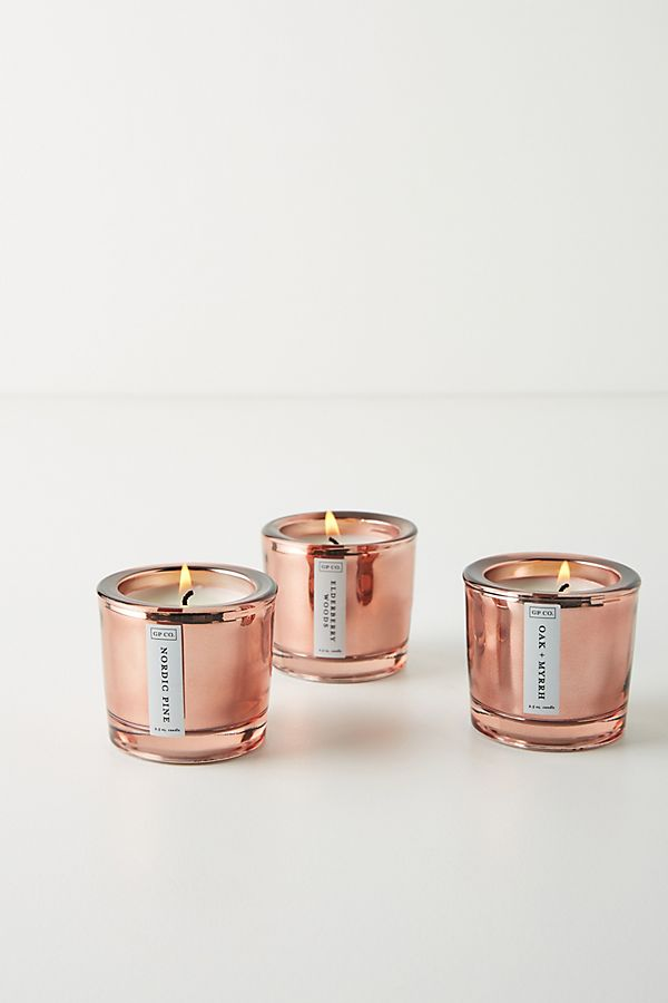 Splendor Votive Candles, Set of 3 $30.00