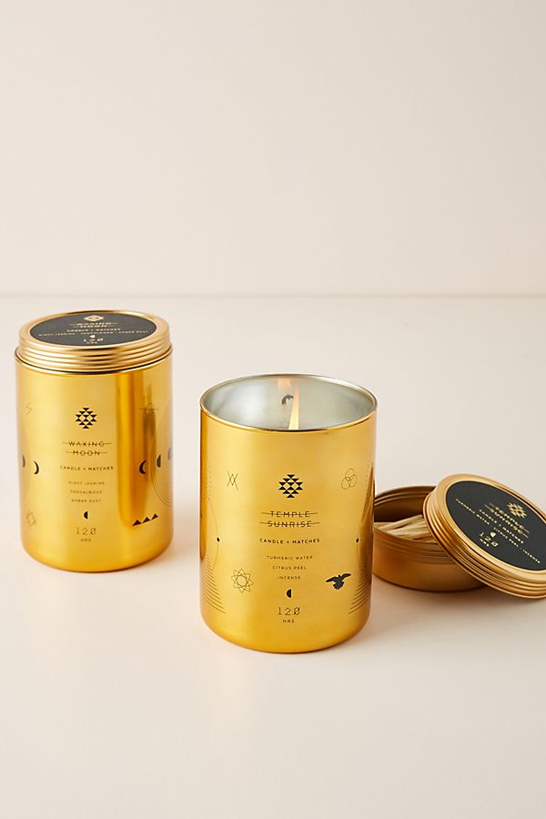 Orion Candle and Matches Set $44.00