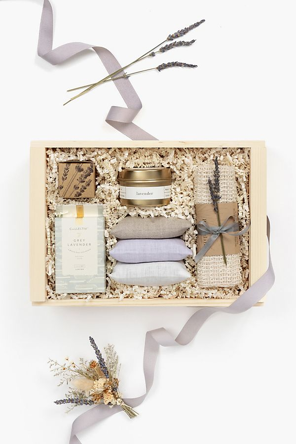 Loved and Found Lavender Curated Gift Box $108.00