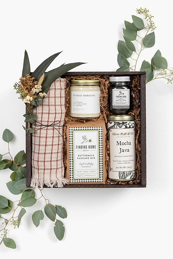 Loved and Found Sunday Morning Curated Gift Box $128.00