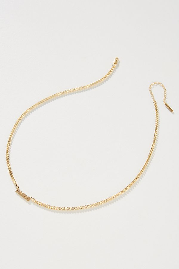 Zodiac Bar Necklace$198.00