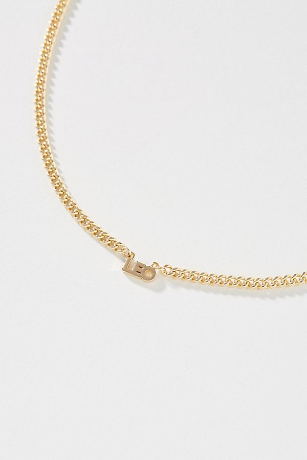 Zodiac Bar Necklace $198.00