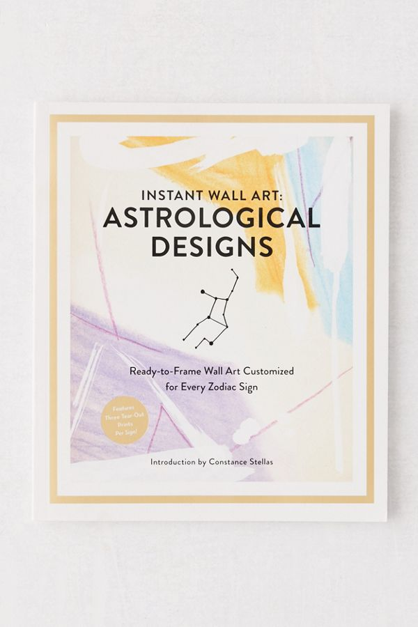 Instant Wall Art: Astrological Designs: Ready-to-Frame Wall Art $18.99