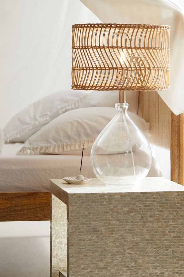 Teardrop Glass Table Lamp$149.00