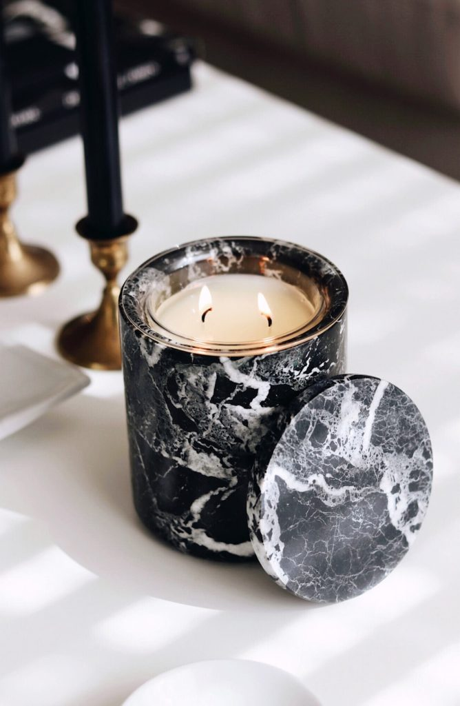 Marble Candleholder THE LUXURIATE $99.00