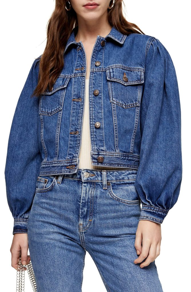 Tilda Denim Jacket TOPSHOP $75.00