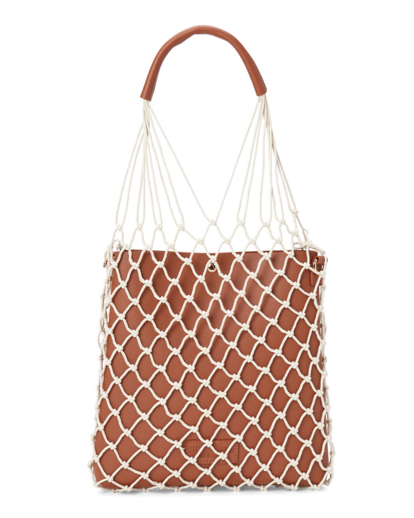 Two-in-One Fishnet Tote $19.97
