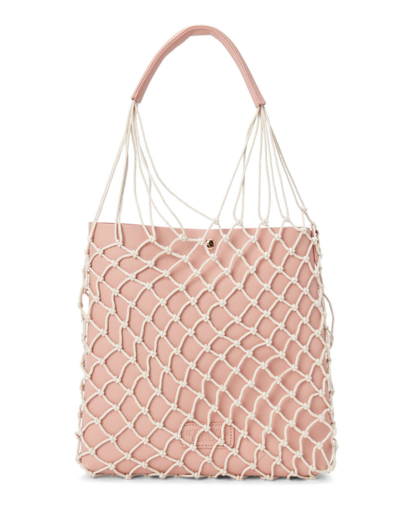 Two-in-One Fishnet Tote$19.97