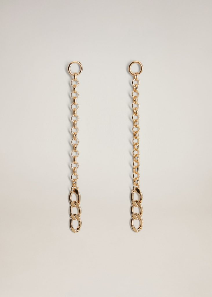 Chain pendant earrings $19.99