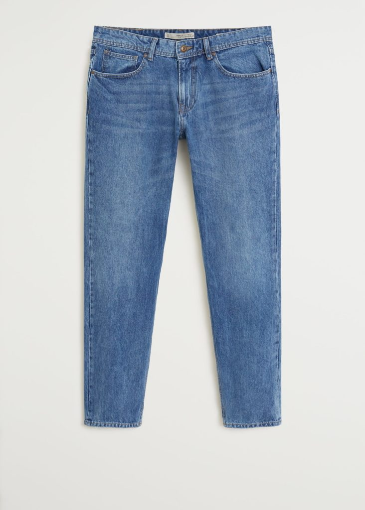Regular fit medium wash Bob jeans $49.99