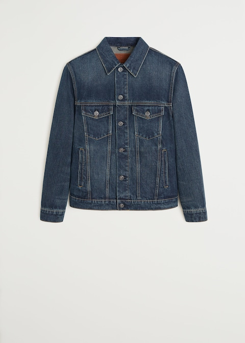 Soft wash denim jacket $69.99