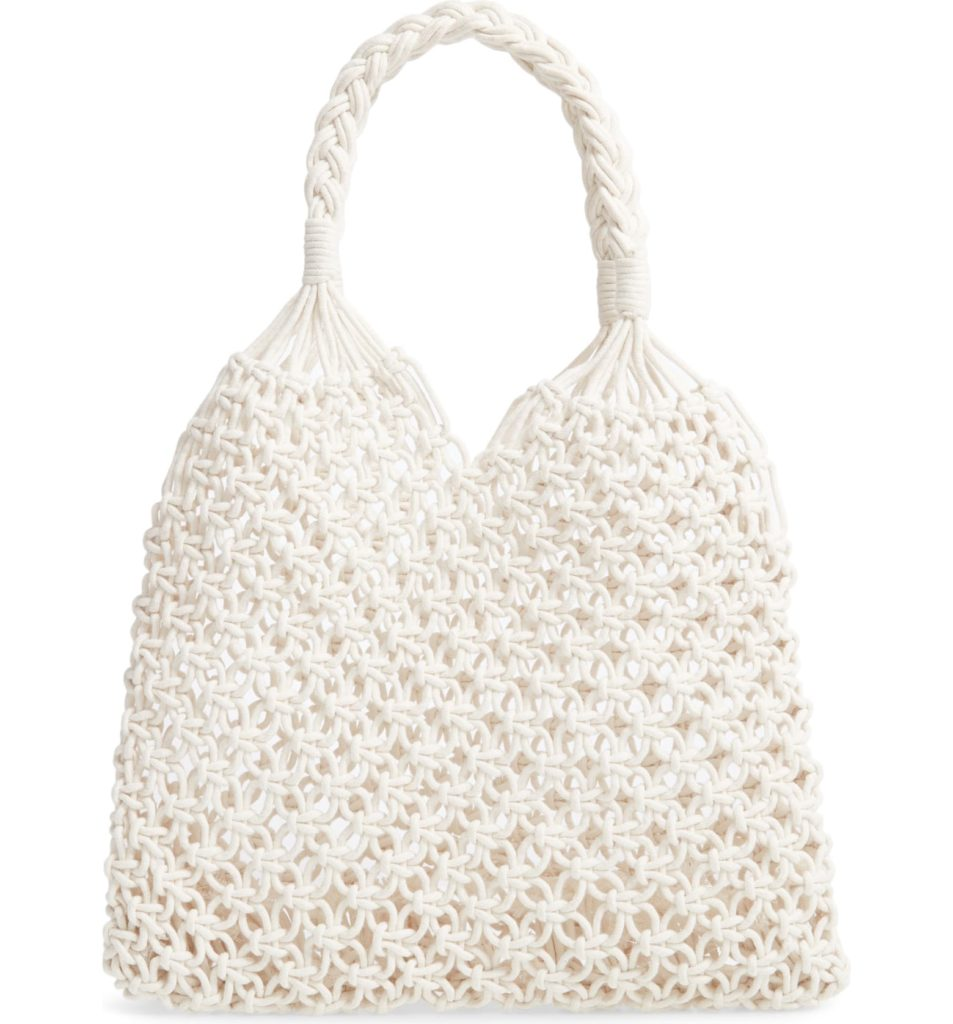 Crochet Tote Bag KNOTTY $88.00