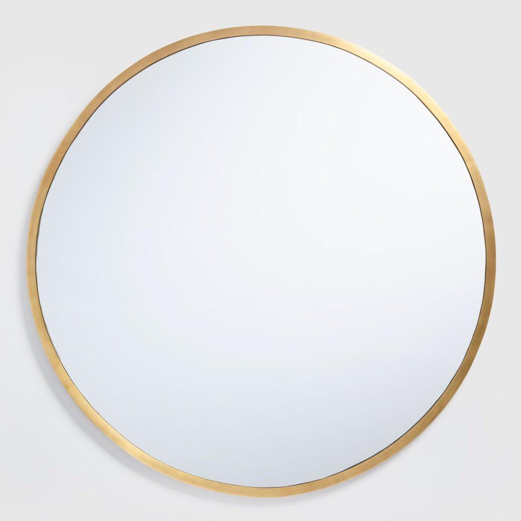 Round Brass Sana Mirror $169.99