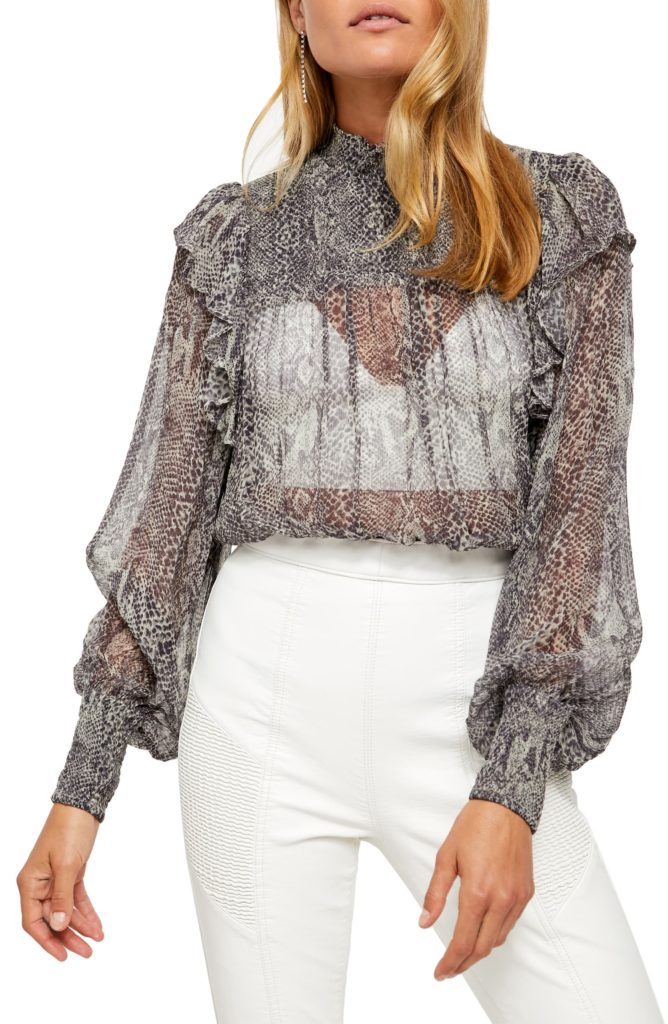 Roma Blouse FREE PEOPLE $128.00