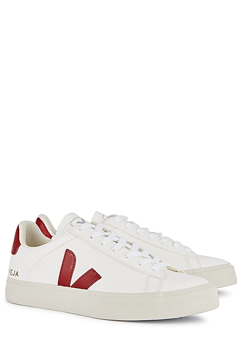 Campo white leather sneakers $‌120.00