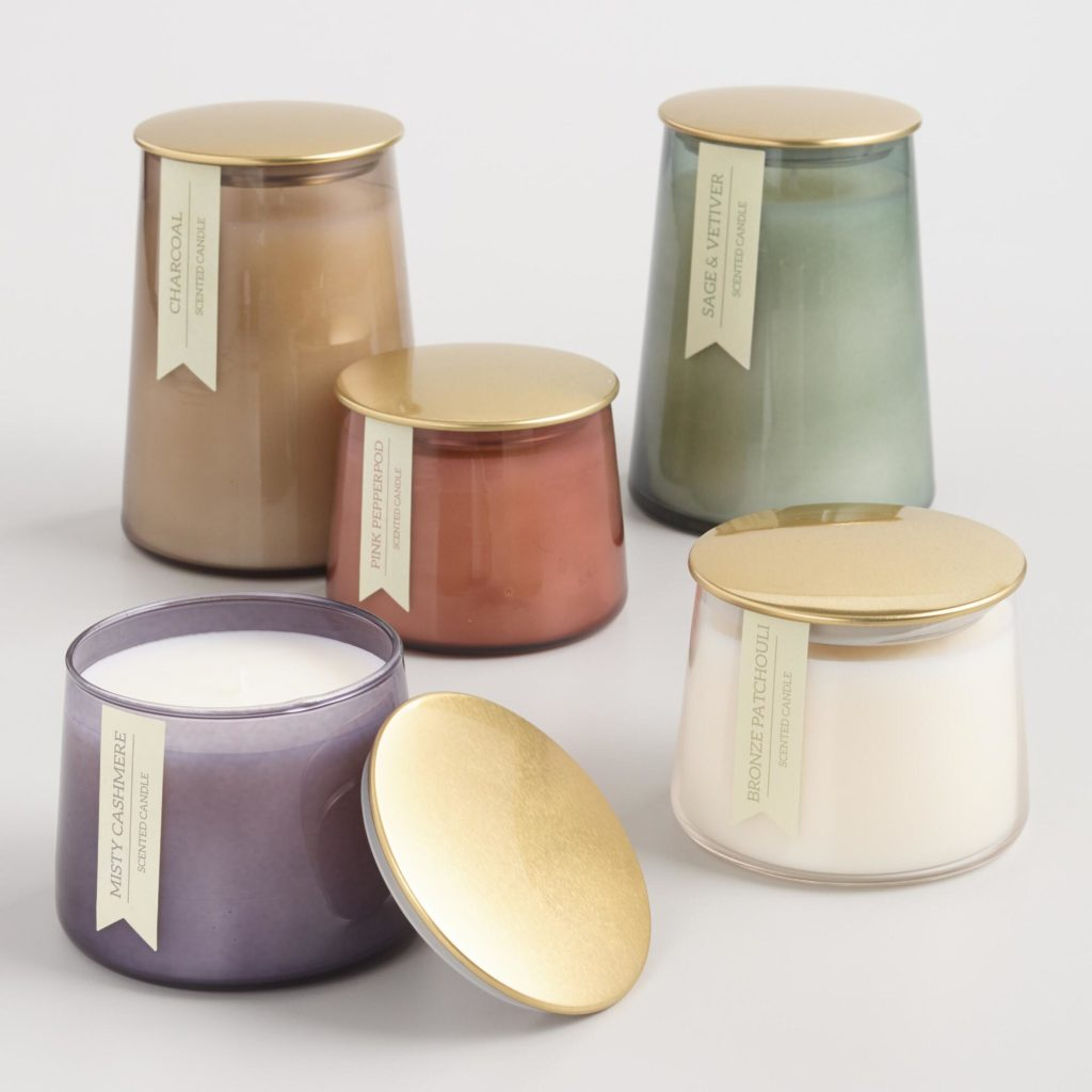 Gold Lid Glass Filled Jar Candle Collection$14.99 - $21.99
