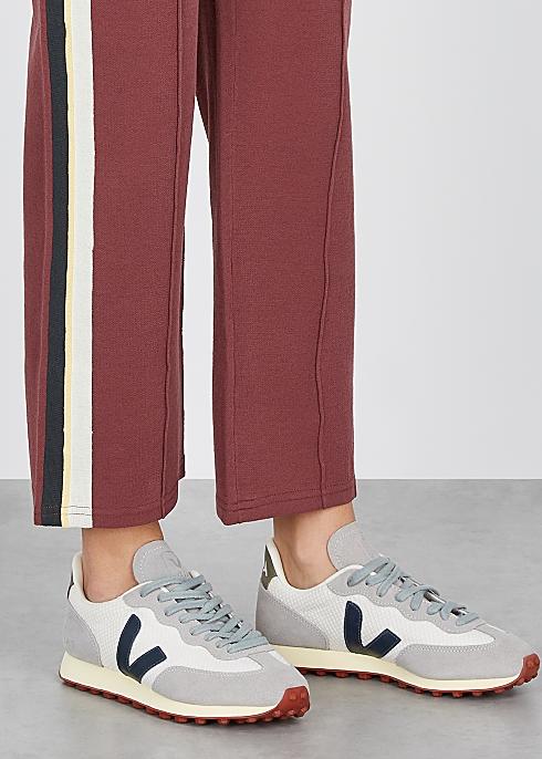 Rio Branco grey mesh sneakers $120.00