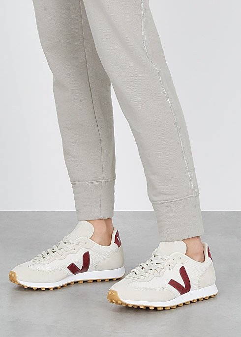 Rio Branco white mesh sneakers $120.00