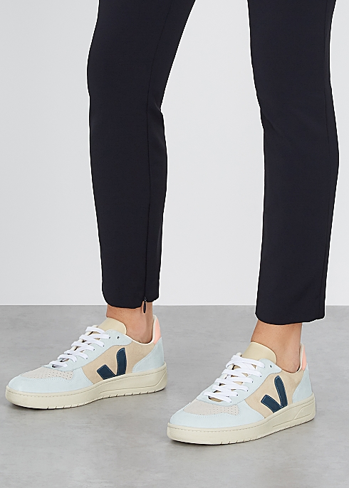 V-10 suede sneakers $130.00