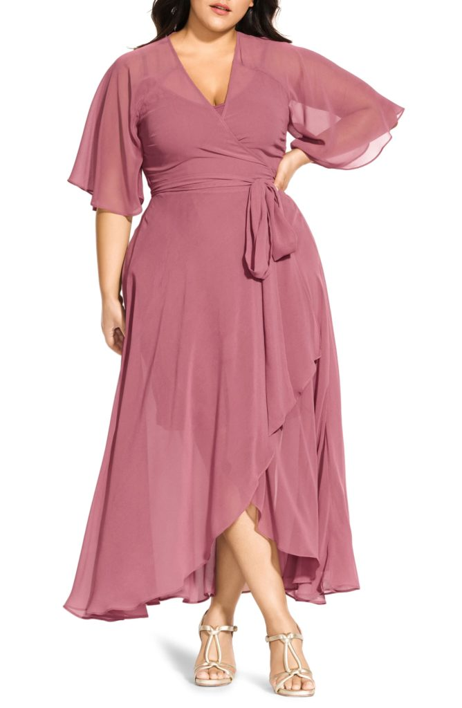 Enthrall Me High/Low Dress CITY CHIC $59.40